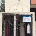 Manejo de residuos de gases